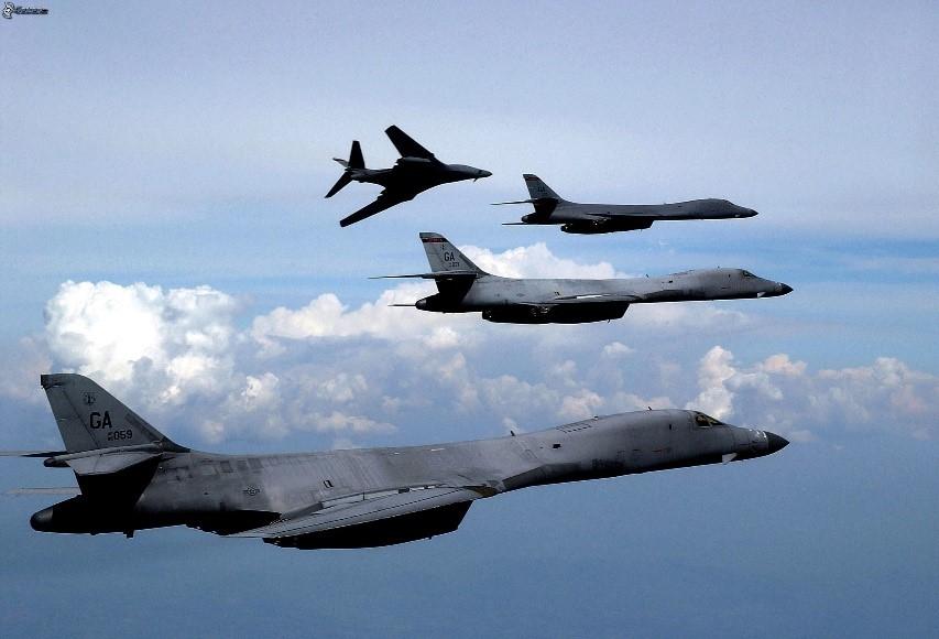 Strategic US B-1B Bombers