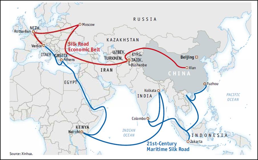 China's One Belt Road Scheme