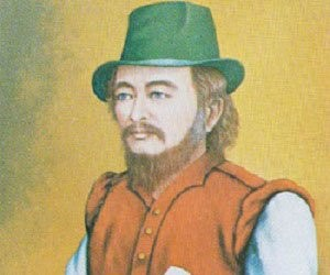 William Adams, the first ever foreign samurai, who died at 70.