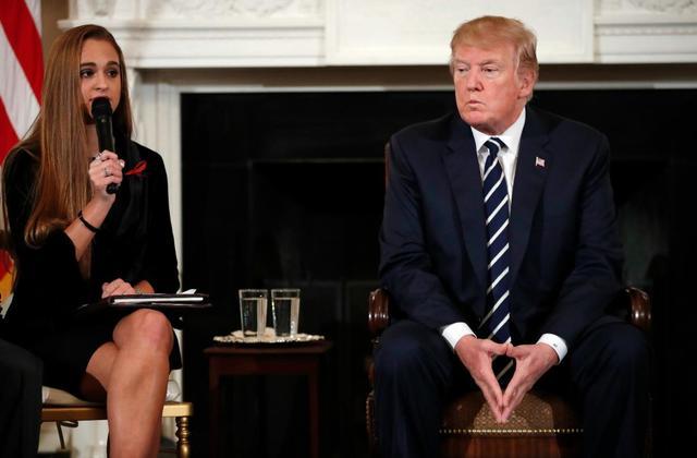 Trump listening to gun violence survivors