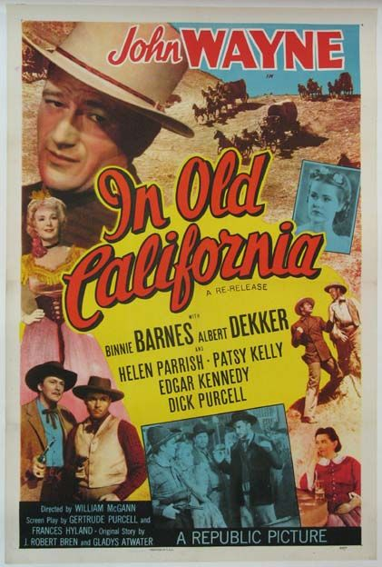 In Old California's    poster