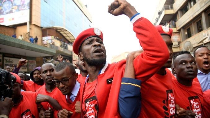 BOBI WINE - INSPIRING UGANDA'S YOUTH