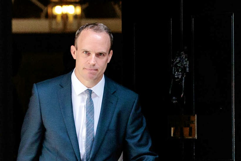 Dominic Raab resigned on 15th November