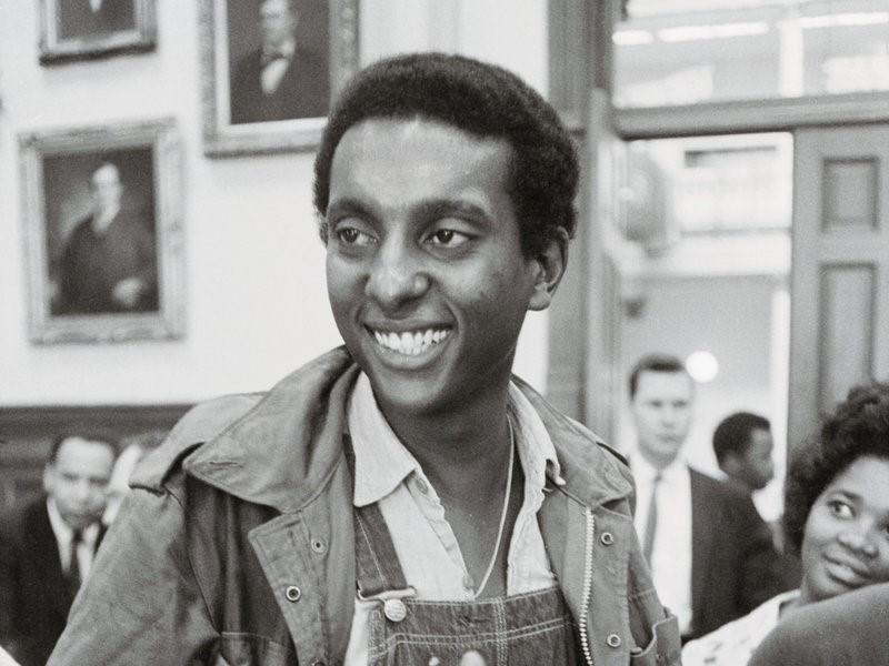 Kwame Ture, born Stokley Carmichael