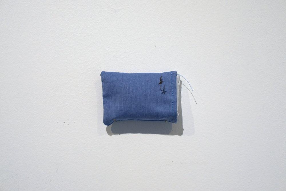 Frances Gallardo   Untitled , 2017 Paper cutout, fabric, thread