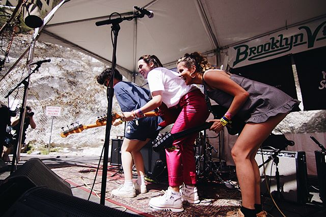No better way to start off Day 2 of our #LOSTWKND2 (w/ @brooklynvegan , @musicnorway , @oyafestivalen) then with @hindsband, @soccermommyband, and more! Only a few bands left, so hurry up to @cheerupcharlies 💕 📸: @luctx20, @ahotelparty , @camijosephine