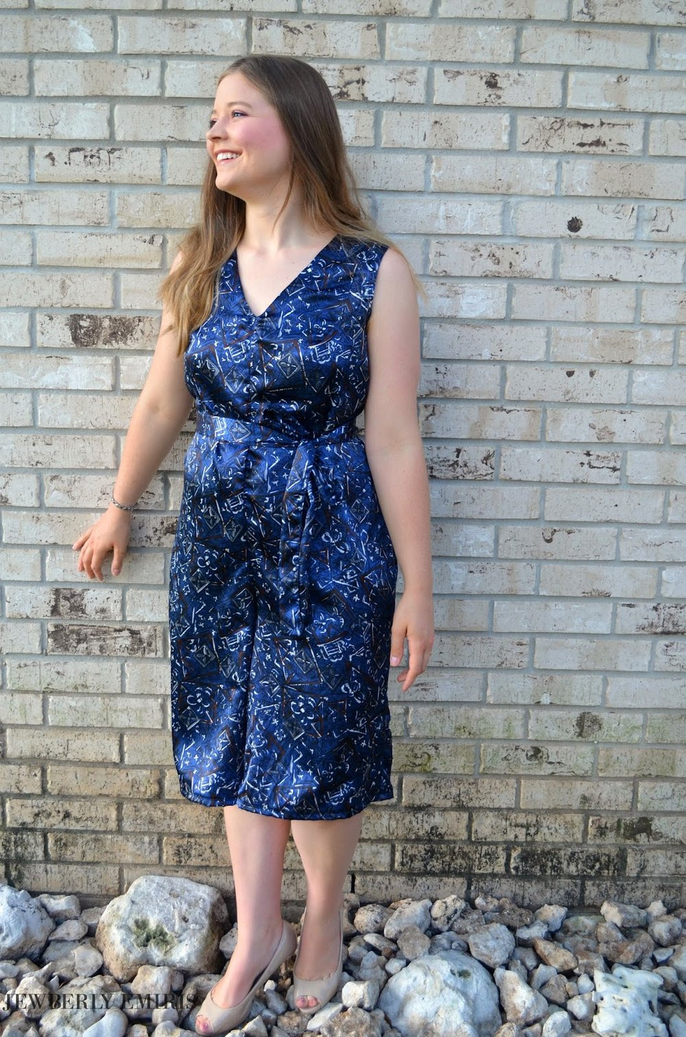 Finished Jumpsuit! - Read about it HERE or watch the video HERE