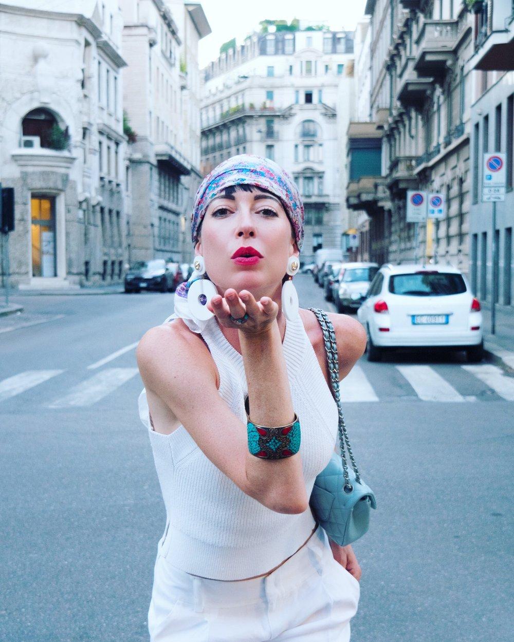 Earrings by Vitti Ferria Contin