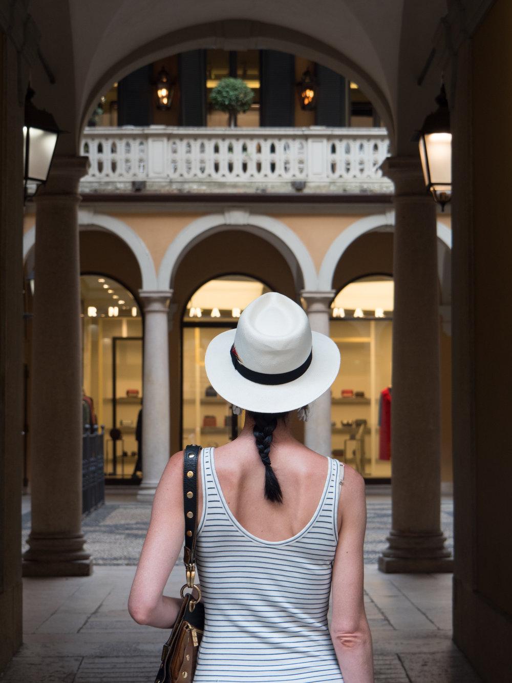Shopping in Brera