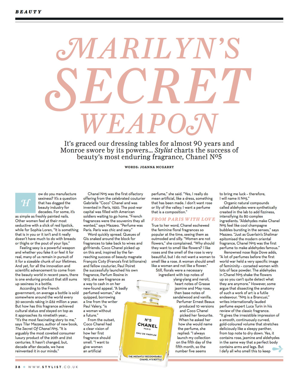 56 MARILYNS SECRET WEAPON - Chanel No.5.jpg