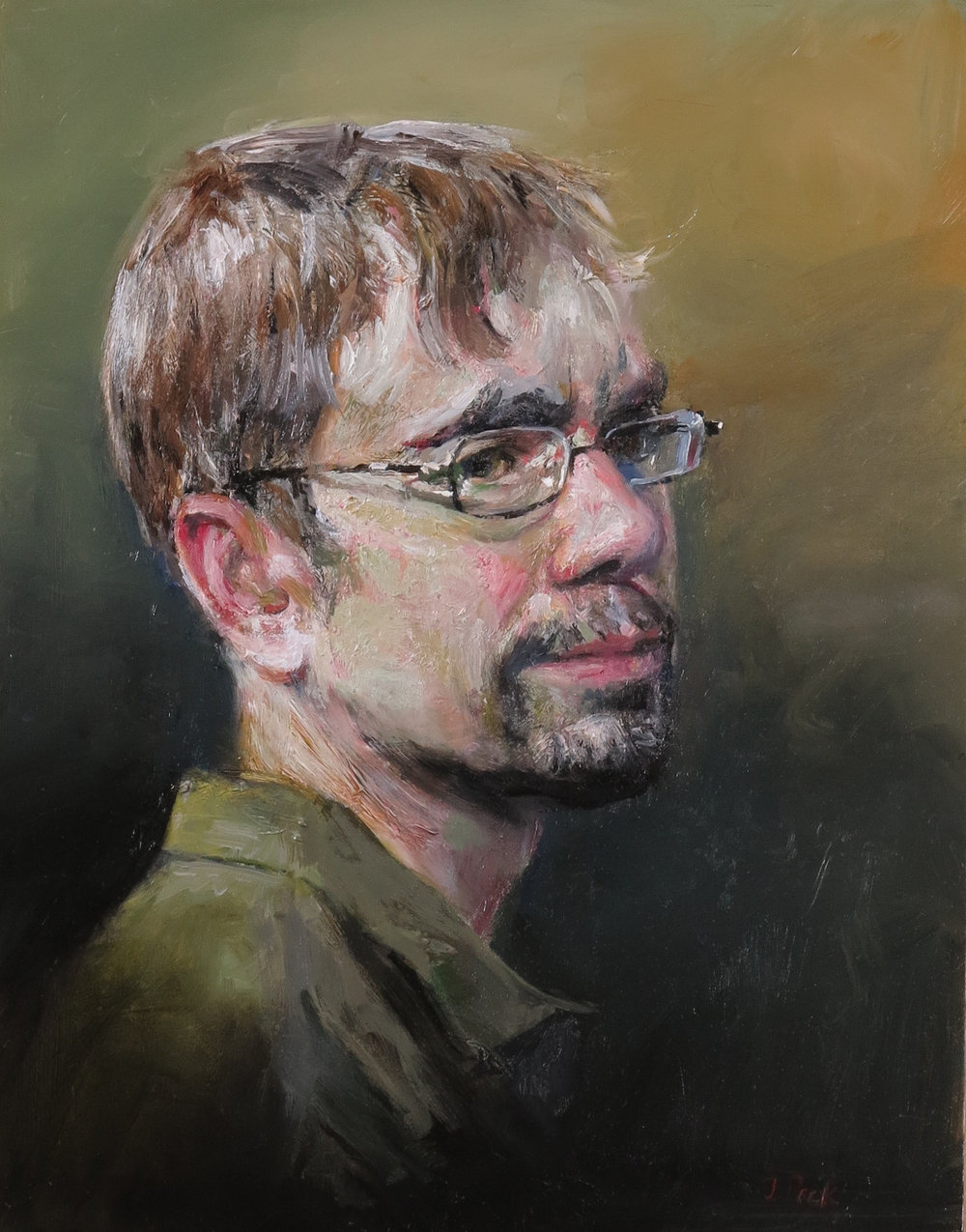 Portrait of Joshua Gray, Poet  (Available)