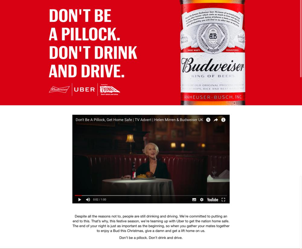 Image source:  Budweiser