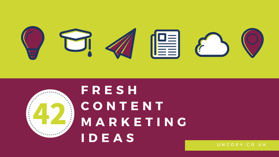 42 Fresh Content Format Examples That Will Restore Your Hope