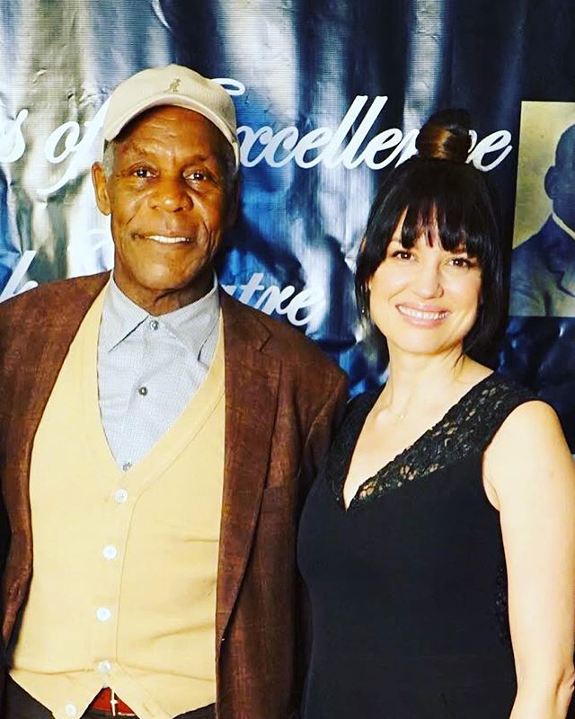 Celebrating 25 years of @therobeytheatrecompany where I've had the honour of performing 🎭 with co-founder and utter gent Danny Glover.