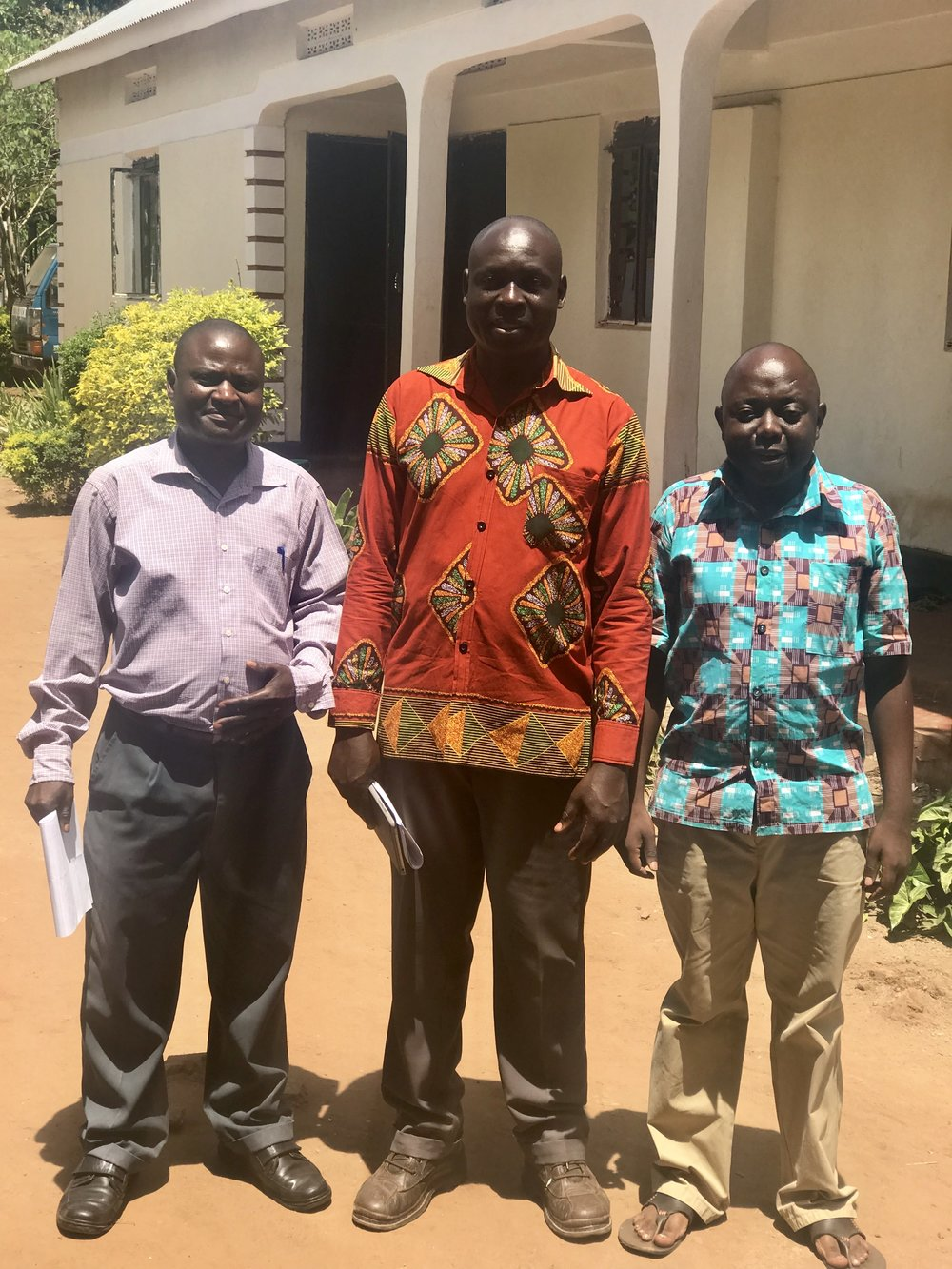 Negowa boys. They are directors, teachers and cooks.