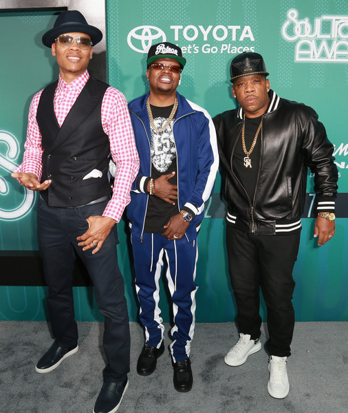 BELL BIV DEVOE - 2017 SOUL TRAIN AWARDS RED CARPET