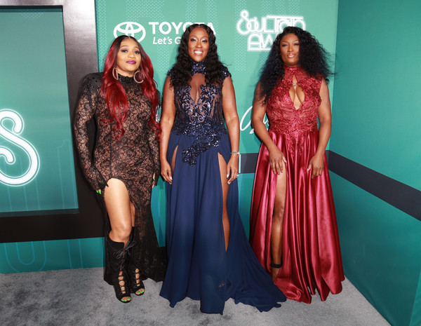 SWV - 2017 SOUL TRAIN AWARDS RED CARPET