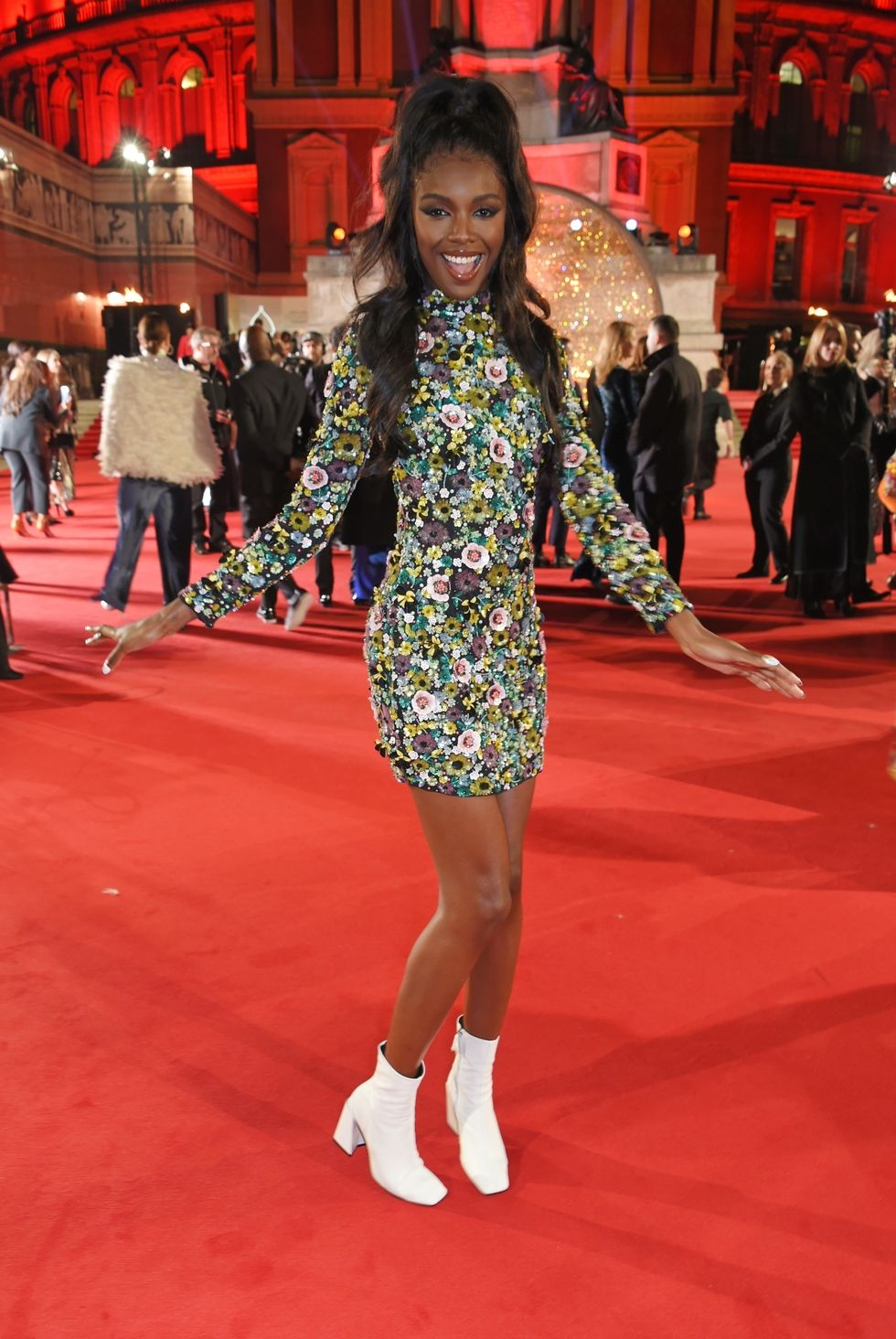 Leomie Anderson - British Fashion Awards 2017