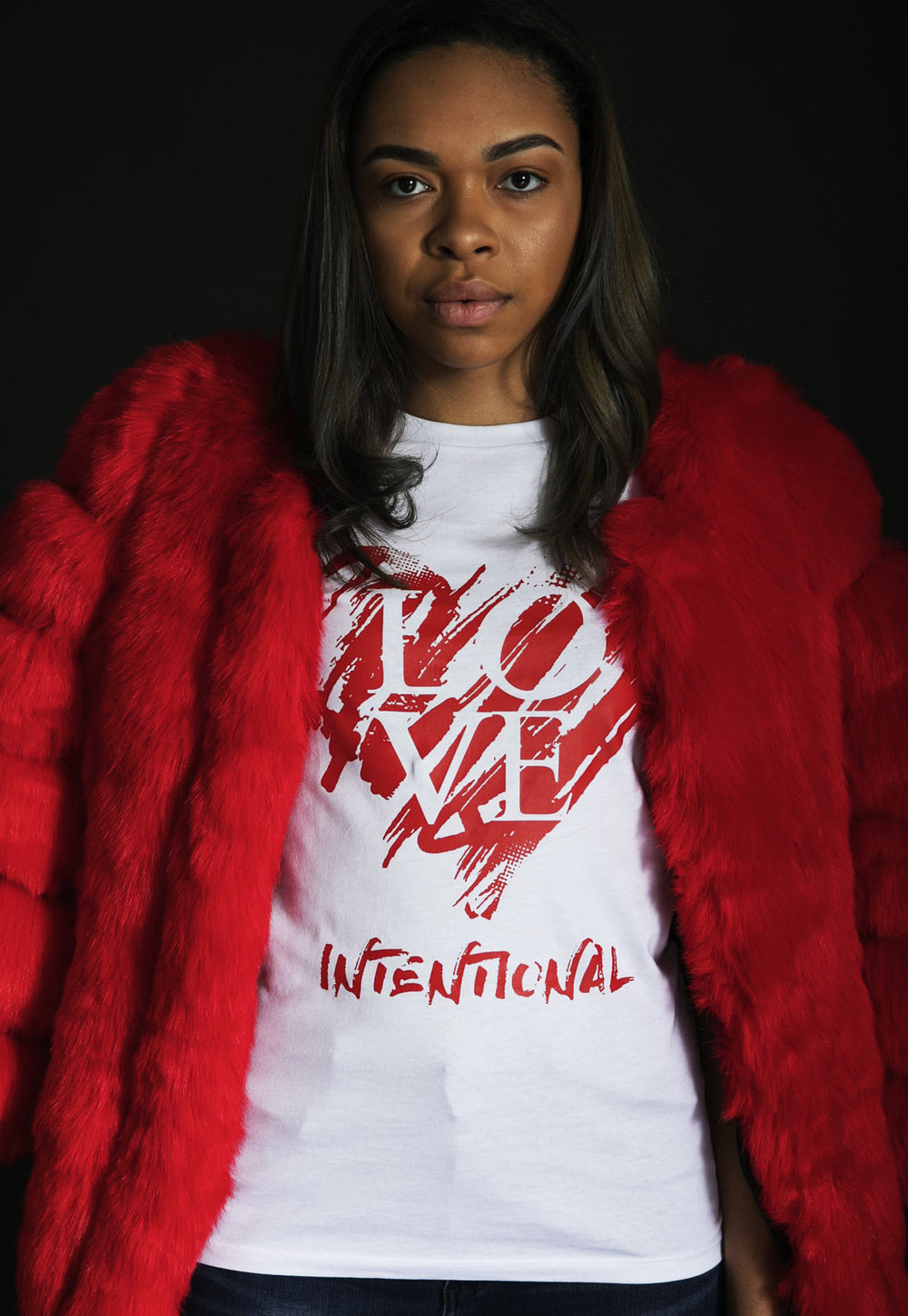 Love International Tee - $27 (Fur not included)
