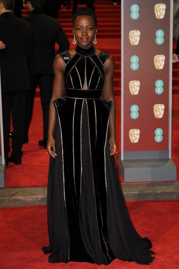 2018 BAFTA AWARDS - Lupita NYong'o