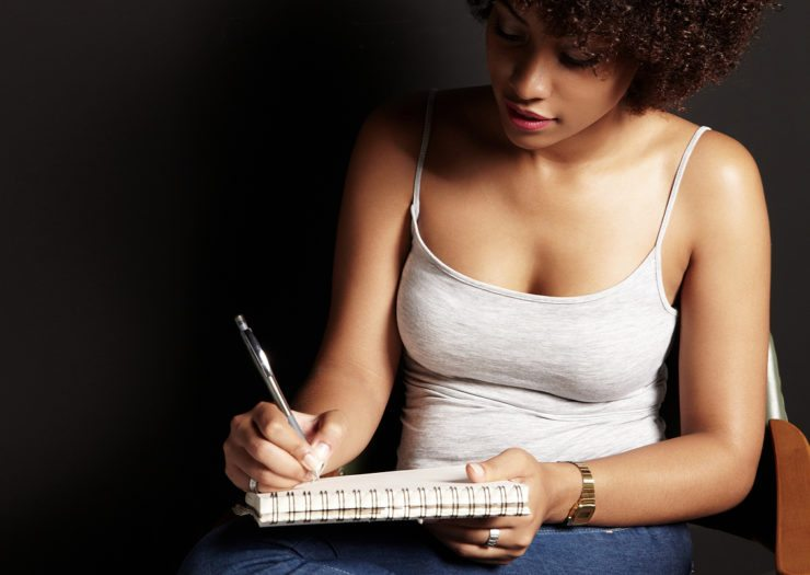 Tip 2: Start Keeping A Journal - Journaling I find can be very therapeutic. As a matter, fact journaling can help alleviate stress. Writing in a journal allows you express all your innermost thoughts without judgment. For example, you can write about your day at work, positive ways to solve problems, your greatest fears, and concerns, insecurities etc. In like manner, sometimes journaling can provide a better outlet instead of talking to friend or family. My early beginning with writing a journal was because of a man. The more I wrote the more comfortable I felt with releasing all my pinned up frustrations. Journal books are very inexpensive your can purchase them almost anywhere, for instance, Wal-Mart, Target, or your local discount stores can carry them.