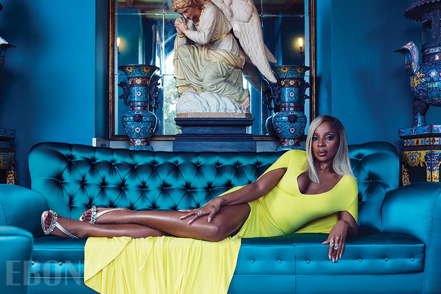 MARY J BLIGE EBONY MAGAZINE SPRING 2018 YELLOW DRESS TEAL COUCH.jpg