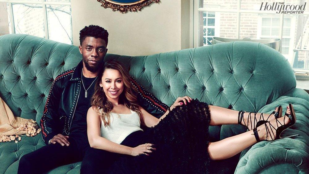 Stylist Ashley Weston & Chadwick Boseman - The Hollywood Reporter