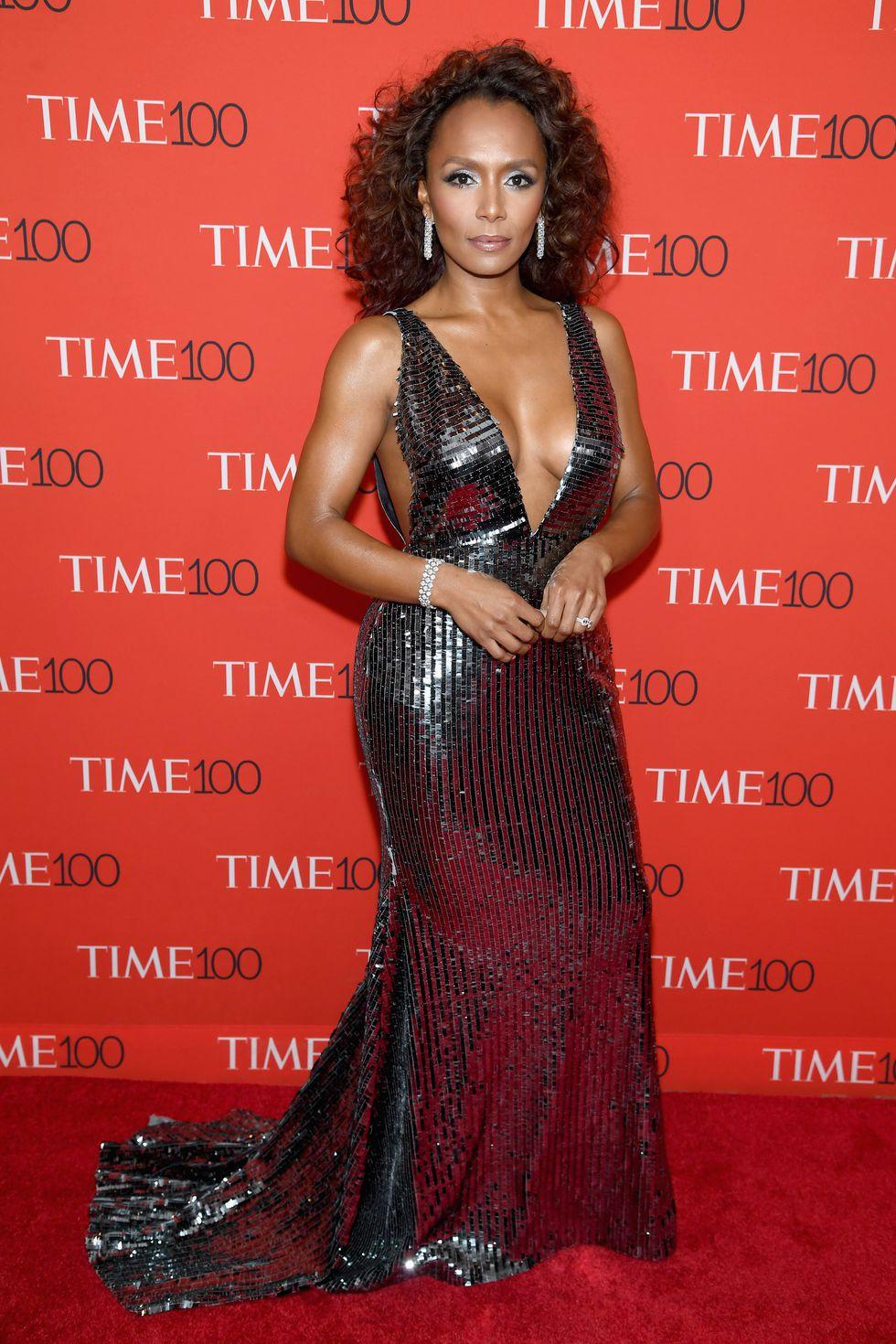 Janet Mock - Red Carpet Fashion: TIME 100 Gala 2018