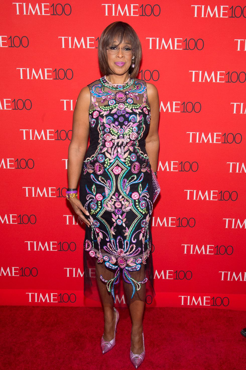 Gayle King - Red Carpet Fashion: TIME 100 Gala 2018