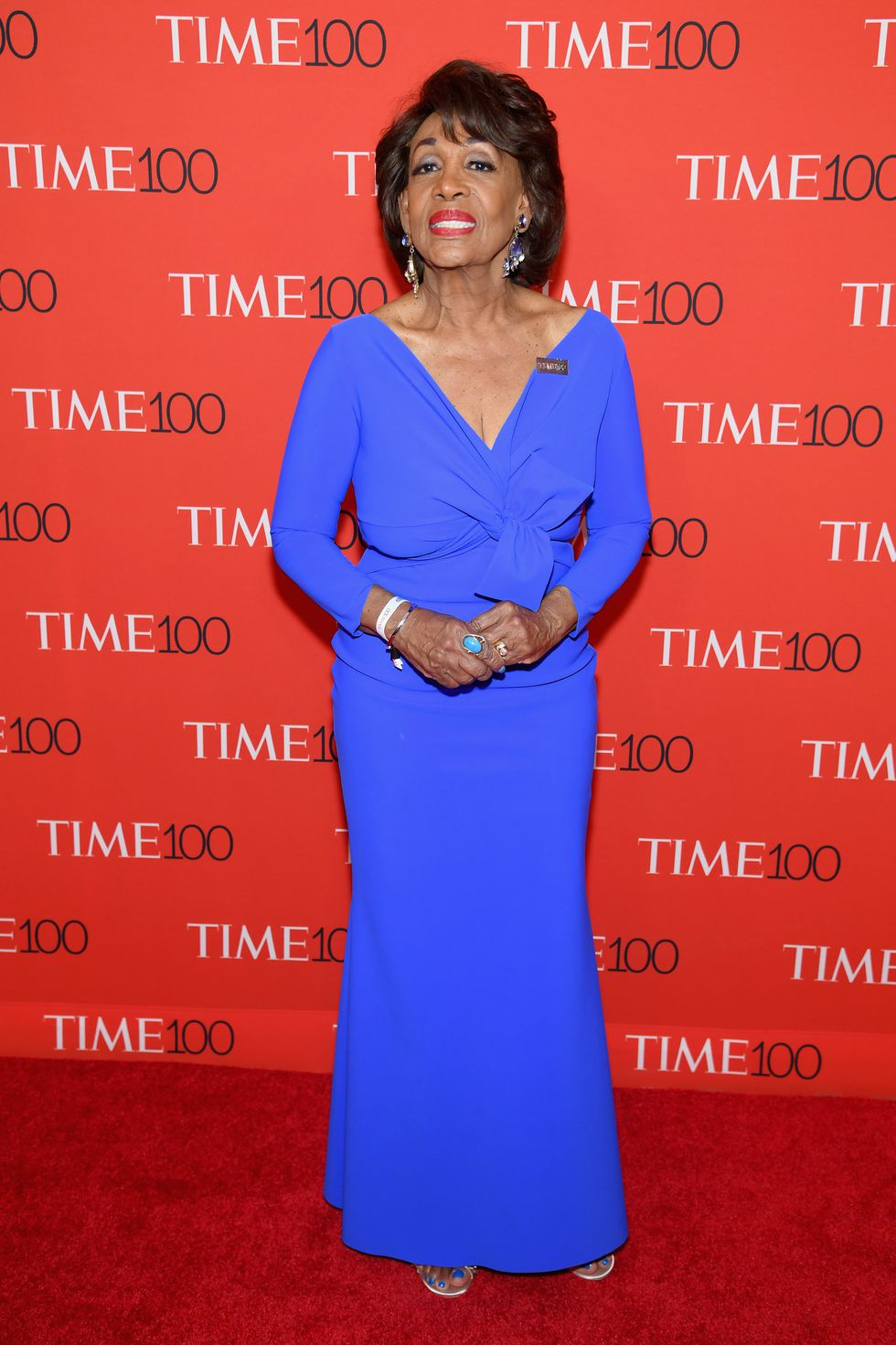 TIME 100 GALA 2018 RED CARPET MAXINE WATERS.jpg