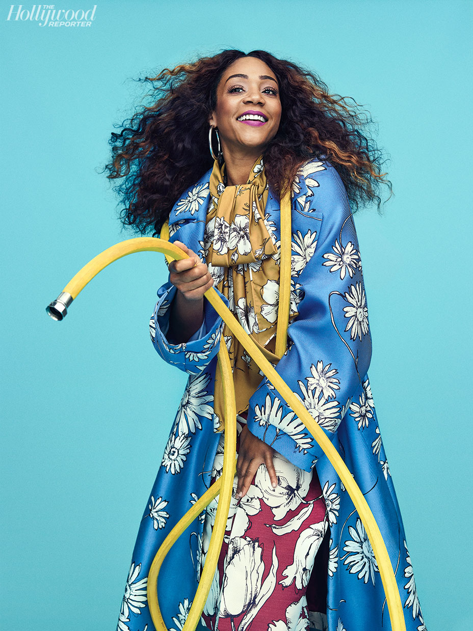 TIFFANY HADDISH FOR THE HOLLYWOOD REPORTER 2018 WATER HOSE.jpg