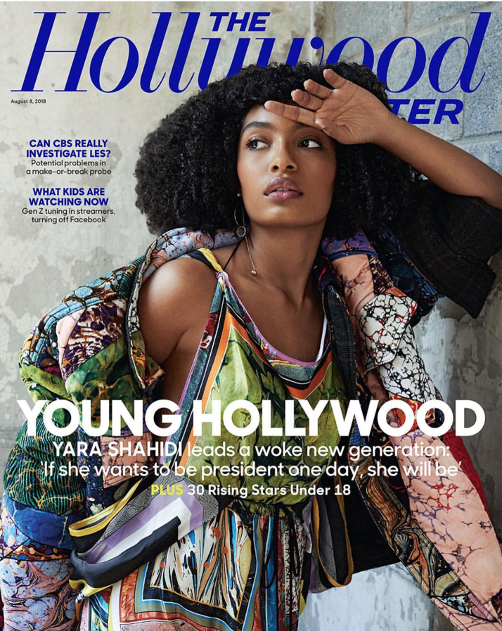 YARA SHAHIDI - THE HOLLYWOOD REPORTER