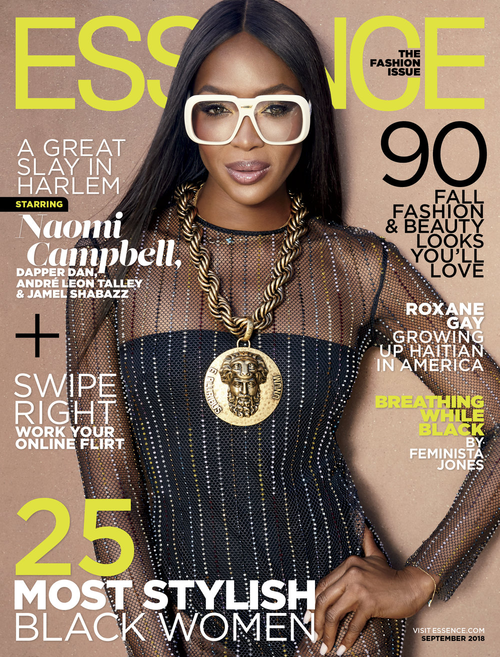 NAOMI CAMPBELL - ESSENCE MAGAZINE