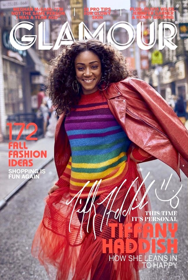 TIFFANY HADDISH - US GLMAOUR MAGAZINE