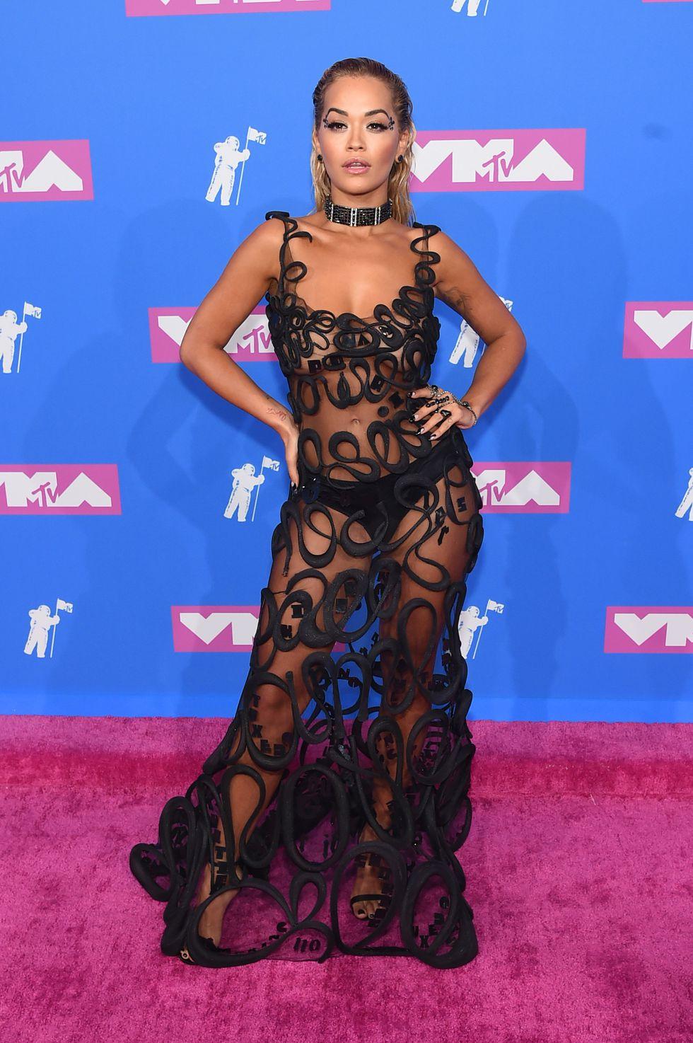- Rita Ora in Jean Paul Gaultier