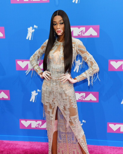 - Winnie Harlow in Zuhair Murad Couture
