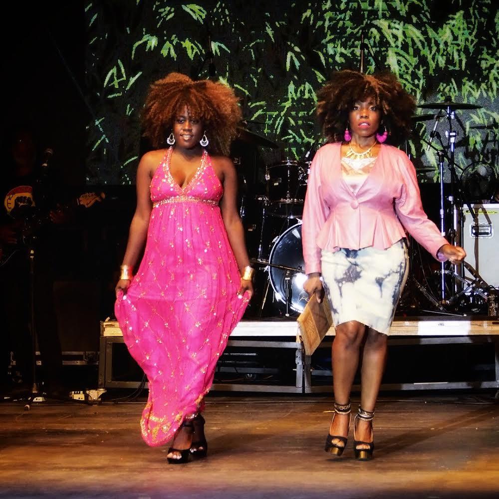 "Models: Ebony (L) & Jessica Presberry (R)       IG: (Jessica's) @jessmerizing      Wigs: ""Epiphany"" (L) $95 & ""Raquel"" (R) $75      Dresses: Chiccastaway Boutique      Curated: Clickyoheels (Gabrielle Hatcher)"