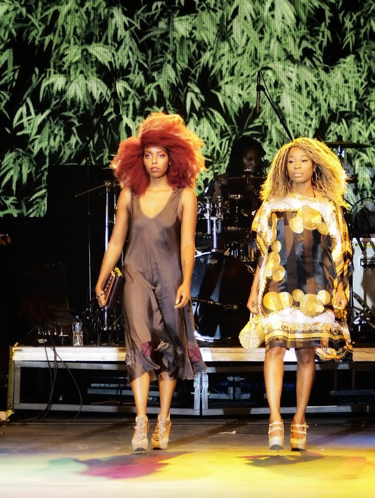 "Models: Odie Blew (L) & Carmen Mi'Chelle (R)       IG's: @theblaqueheauxl & @carmen.michelle      Wigs: ""Firecracker"" (L) $65 & ""Cleo"" (R) $250      Dresses: Chiccastaway Boutique      Curated: Clickyoheels (Gabrielle Hatcher)"