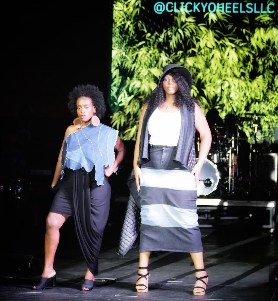 Models: Dana Mari & Its All Journey      IG's: @danamari1 & @its.all.journey      Dress: Chiccastaway Boutique      Denim Shrug & Skirt: Clickyoheels LLC      Floppy Hat & Quilted Vest: Cedi Johnson      Curated: Clickyoheels (Gabrielle Hatcher)