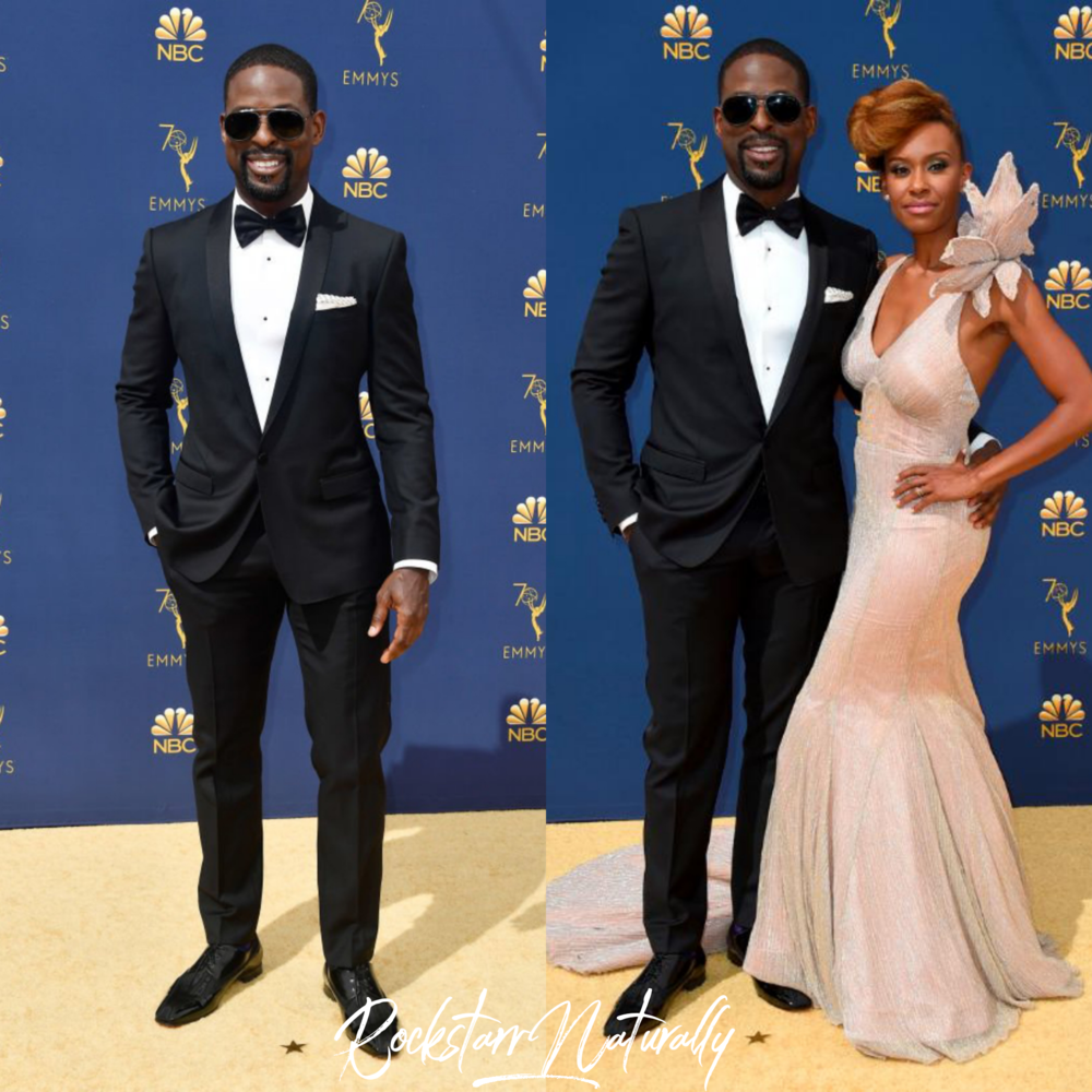 - This Is Us Actor Sterling K. Brown w/ wife Ryan Michelle Bathe