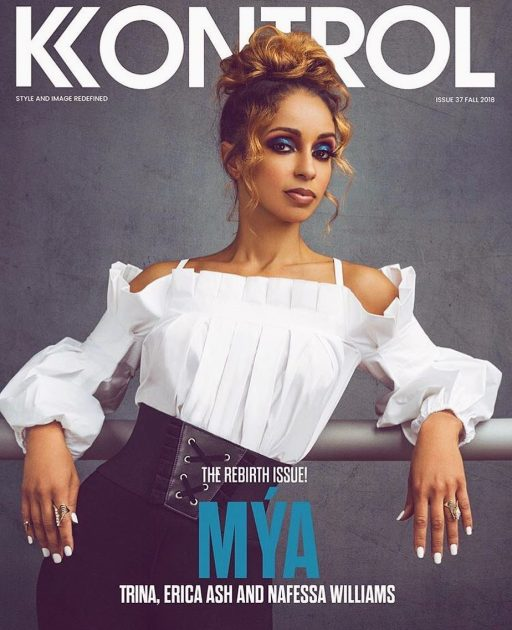 "- Mya (Cover 2) Kontrol Magazine ""The Rebirth Issue""Photo Credit: Elvis Piedra StudiosWardrobe: Anne FontaineWardrobe Stylist: Julian LarkStyle Assistant: Simply Deee & Chad RossHair: Andrea PoweMUA: J GlennCreative Director: Blonde Hair'd Girl"