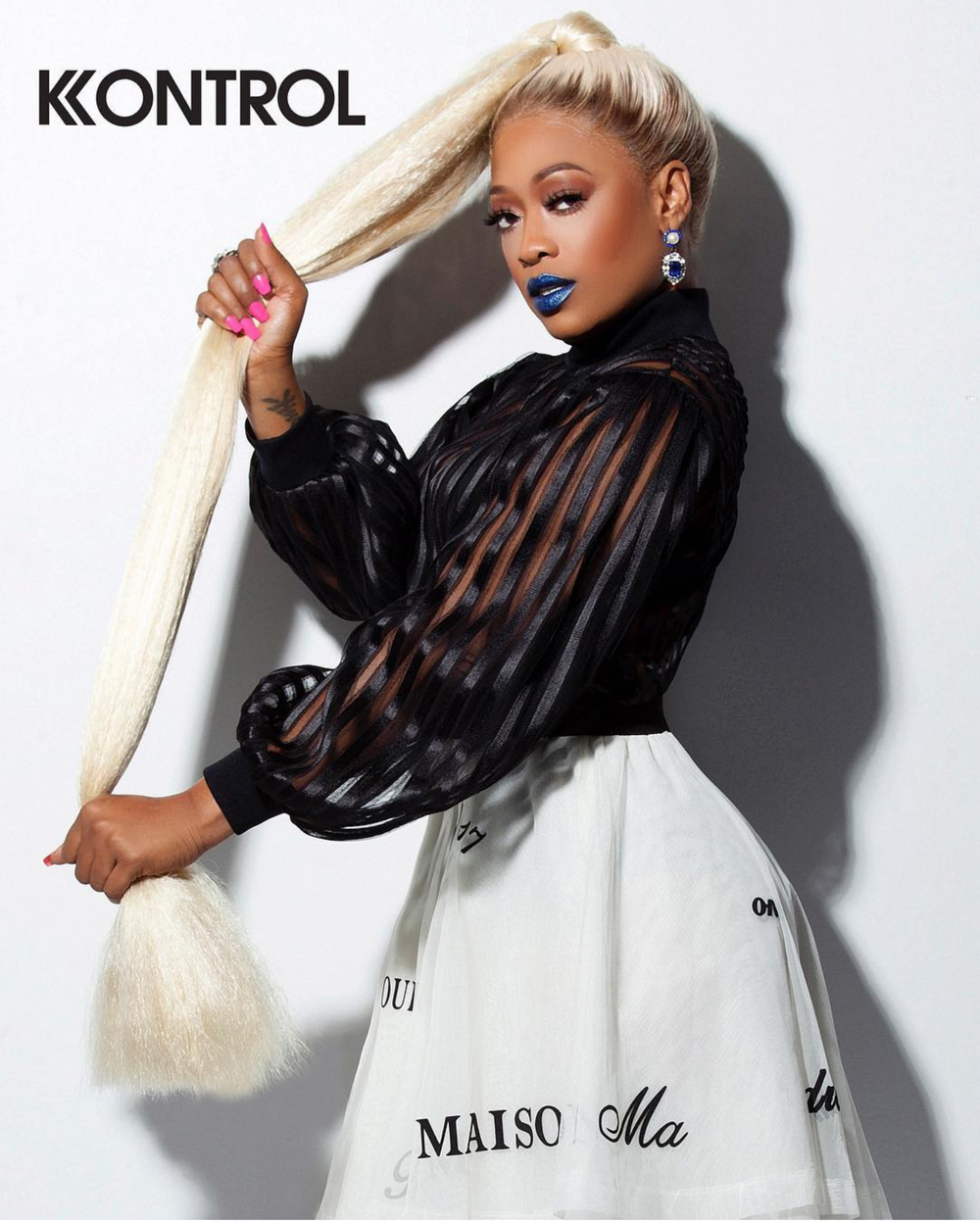 KONTROL MAGAZINE REBIRTH ISSUE 2018 TRINA PONYTAIL.png