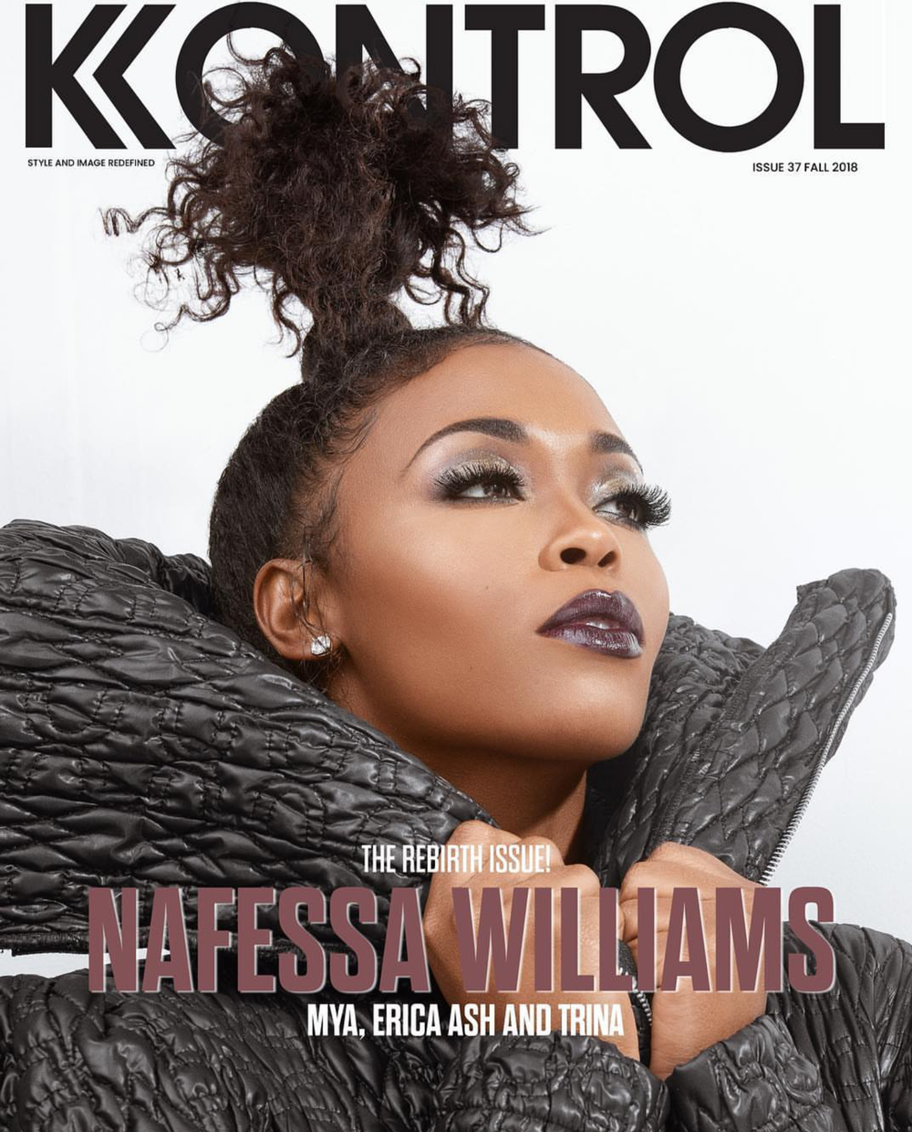 "- Nafessa Williams (Cover 4) Kontrol Magazine ""The Rebirth Issue""Photo Credit: Blair Devereaux PheauxtographyPhoto Assistant: Carson OgletreeWardrobe Stylist: Julian LarkAssistant Stylist: Simply DeeeeMUA: Mimi JohnsonHair: Andrea PoweCreative Director: Blonde Hair'd Girl"