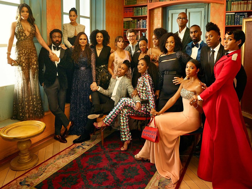 EPIC PHOTO SHOOT OF THE YEAR - MARK SELIGER 2018 OSCARS PORTRAIT STUDIO PHOTOS VANITY FAIR