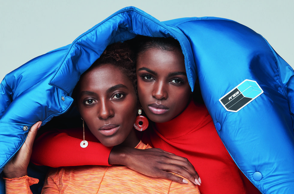 - (Left) Poet Yrsa Daley-Ward (Right) Supermodel Leomie Anderson