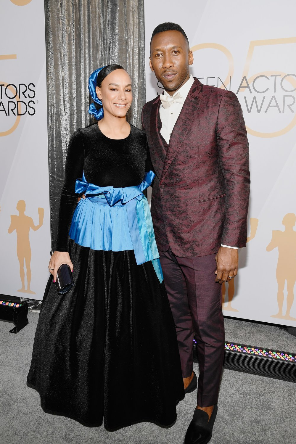 SAG AWARDS 2019 RED CARPET MAHERSHALA ALI AND WIFE.jpg