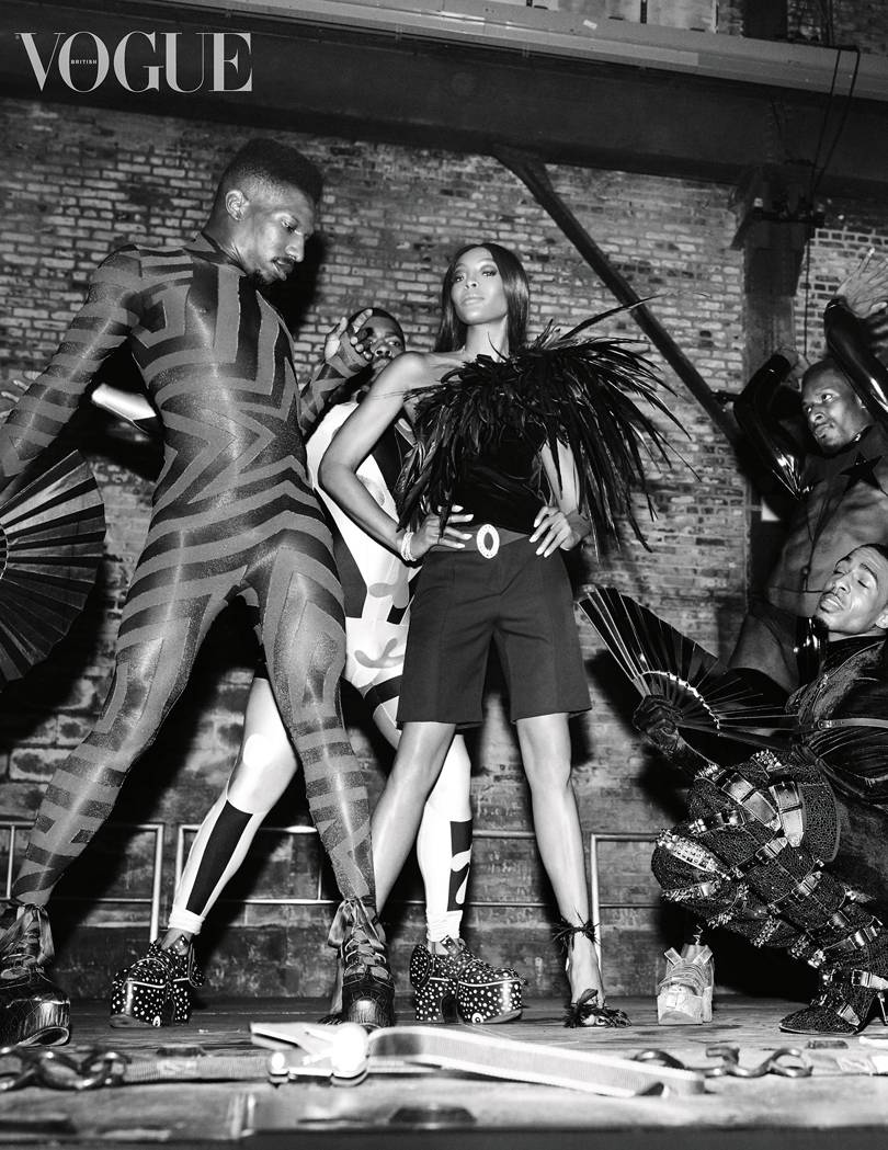 BRITISH VOGUE SPRING FASHION ISSUE NAOMI CAMPBELL 2019 BLACK & WHITE.jpg