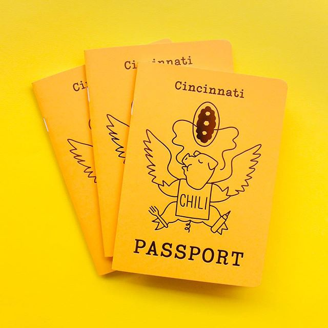 LAST CHANCE to get your hands on a Chili Passport! It has been such a fun project but we are moving on. Help us clear out the rest of stock and enjoy the passport + prints with a major discount! Head to our site to shop—link in bio! // #cincinnati #cincinnatichili #cincinnatichilipassport