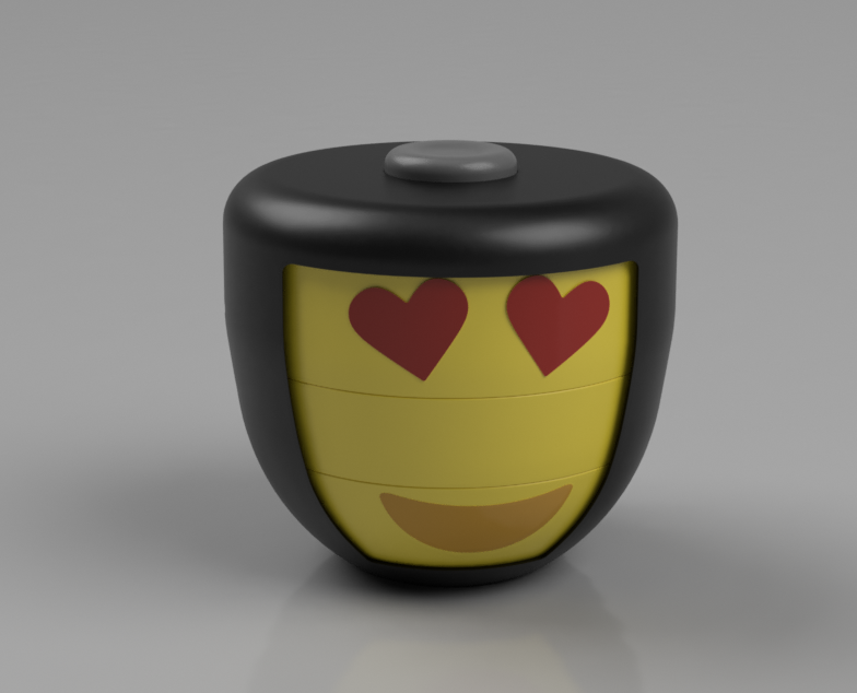 - Taking a step back and thinking about the original concept of the product, which is to be an interactive, entertaining, emoji-themed toy.During the concept ideation/development process, the product became more of a 'fidget' toy than an emoji toy.With the goal of licensing this product to a toy manufacturer, it needs to be able to go the next year or so without losing popularity, something that I believe fidget toys cannot do. Emoji's on the other hand, are becoming an essential part of the way people communicate, which will keep this product 'in style' for a long time.