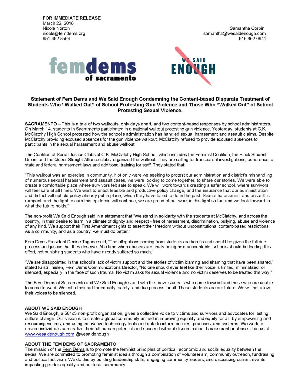 Fem Dems CKM Protest Media Advisory_3.22.18.jpg